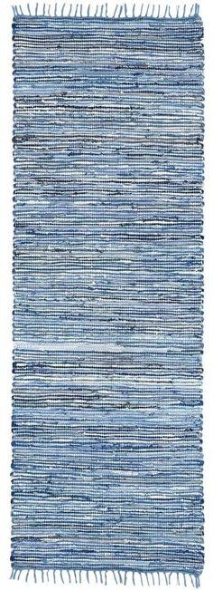 Matador Hand-Loomed Blue Area Rug