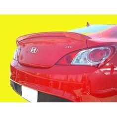 Unpainted 2010-2015 Hyundai Genesis Coupe Spoiler Factory Lip Style