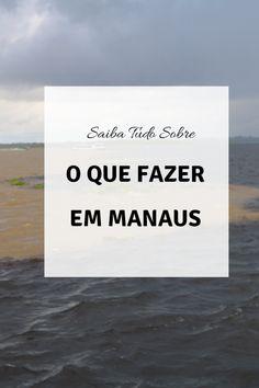 O que fazer em Manaus - Dicas para você aproveitar ao máximo  #dicasdemanaus #manaus #oquefazeremmanaus #dicasdeviagem Beach, Brazil, Outdoor, Manaus, Travel Tips, Viajes, Outdoors, The Beach, Beaches