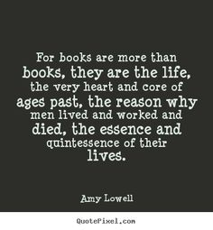 books are the life