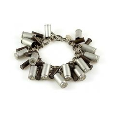 how to make bullet jewelry Gun Jewelry, Bullet Jewelry, Jewelry Crafts, Jewelery, Jewelry Accessories, Handmade Jewelry, Shell Bracelet, Bracelet Making, Jewelry Making
