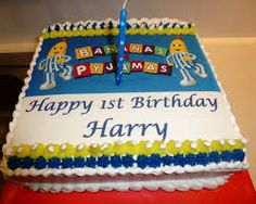bananas in pyjamas cake - Google Search