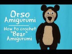 "Orso di ""Masha e Orso"" Amigurumi | How to crochet Bear Amigurumi - YouTube"
