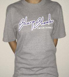Sharp Shooter Entertainment / @M1zZHAZE Grey & Purple T-shirts + Sizes – Available in sizes 3XL 4XL 5XL 6XL