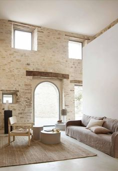 These dreamy images from Danish brand Tine K Home will transport you to an Italian villa that showcases rustic minimalism at its very best. Organize Life, White Washed Floors, Bungalow 5, Italian Villa, Indoor Outdoor Living, Concrete Floors, Cheap Home Decor, Home Remodeling, Decoration