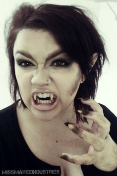 Werewolf girl #werewolf #makeup #halloween #howto - bellashoot.com ...