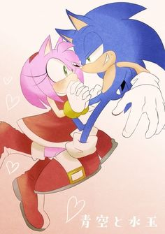 Sonamy Comic, Doctor Eggman, Sonic Franchise, Sonic Heroes, Sonic And Amy, Sonic Fan Characters, Amy Rose, Star Wars Art, Best Couple