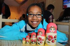 See how creative families of Olympians are getting at the P&G Family Home. Beautiful completed traditional Russian Matryoshka dolls. For the Sochi 2014 Olympic Winter Games.