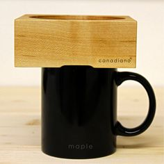 Canadiano, A Wooden Coffee Brewer That Absorbs Flavor As It Is Used