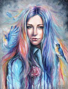 Artiste : Tanya Shatseva  Paeonia Anomala