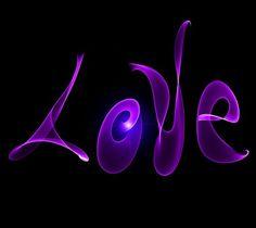 Purple love on We Heart It Purple Art, Purple Love, All Things Purple, Shades Of Purple, Deep Purple, Purple And Black, Purple Stuff, Heart Wallpaper, Love Wallpaper