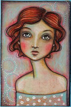 Pennystamper: Artists Around the World (blog hop)