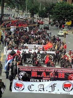 R.A.S.H. Antifa Black Bloc