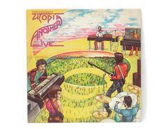 1975 Todd Rundgren Live Another Utopia Vinyl LP Classic Rock Bearsville Label BR 6961