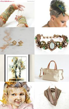 Brown T by Shlomit on Etsy