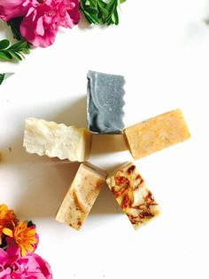 Gift Set  5 Pure Natural Artisan Soaps Handcrafted by KayaSoaps