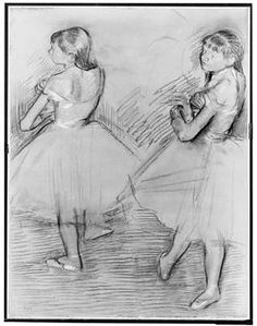Two Dancers, Edgar Degas