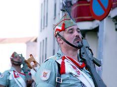 Spanish Army. Legión Extranjera Española (Tercio de Extranjeros), Malaga 2015 - Legionnaire Sergeant Pioneer in Parade
