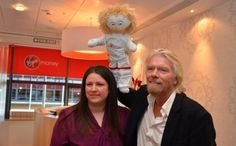 Richard Branson - ready for space - Entrepreneur - Virgin.com So delighted with this and proud of Maria but also proud of myself for being one of many mums who helped Maria get to pitch to Richard for funding.