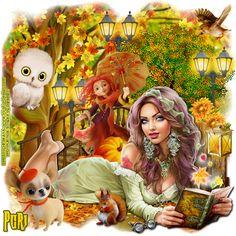 "MI RINCÓN GÓTICO: CT for Daniela E Designs, ""Music of Autumn"""