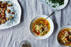 Cabbage and Meatball Soup, a clean-out-the-fridge recipe | food52