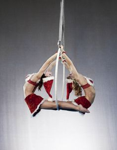 Christmas Aerial Artists provide something different for your Christmas party.  http://bigfootevents.co.uk/entertainment/Themed-Events/Christmas-Party-Night-Themed-Entertainment.aspx
