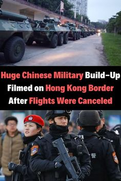 Huge Chinese Military Build-Up Filmed on Hong Kong Border After Flights Were Canceled Daily Funny, Top Funny, Weird World, Female Singers, Social Issues, New Pins, Tony Stark, Confessions, Hong Kong