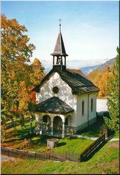 L'église de Mission, Valais, Switzerland