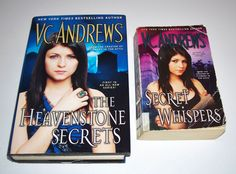 V. C. Andrews 2 Heavenstone Series Lot Heavenstone Secrets HC Secret Whispers PB