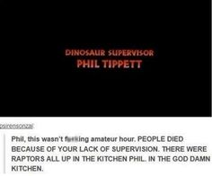 You dun messed up Phil