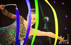 Ganna Rizatdinova (Ukraine) got 18.483 points for RIBBON in all-around finals at…