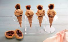 Satisfy your sweet tooth with this decadent ice cream chock-full of butter tart…