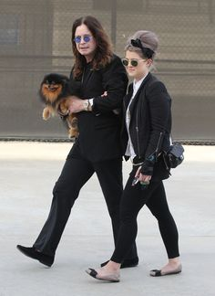 Kelly Osbourne And Parents Ozzy And Sharon Osbourne Go To Maxfields