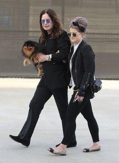 Kelly Osbourne Photo - Exclusive…  Kelly Osbourne And Parents Ozzy And Sharon Osbourne Go To Maxfields