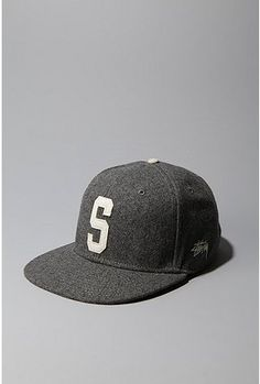 """Stussy Big S Baseball Cap Need this """"S"""" for Smith"""
