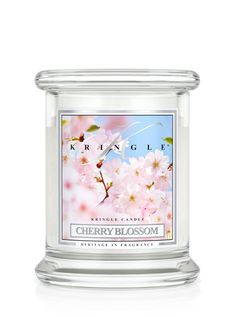 Cherry Blossom | Small Classic Jar (8.5oz) | Kringle Candle