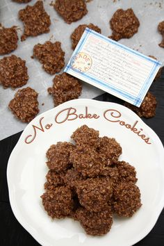 1 Minute Recipe | Mother In-Law's No Bake Cookies Recipe & Video - Seonkyoung Longest