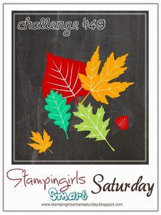 Stampingirls Smart Saturday: Challenge #49 Thema: Blätter