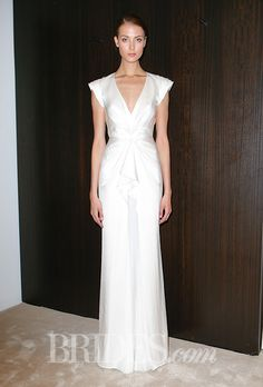 Brides: J.Mendel Wedding Dresses   Spring 2016   Bridal Runway Shows   Brides.com | Wedding Dresses Style