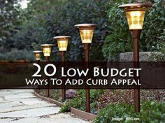 20 Low Budget Ways To Add Curb Appeal