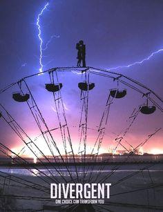 ~ Dauntless Ferirs Wheel~ Aunque nunca Tris tubo vestido en osadía, esta lindo el póster