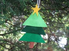 Kids Christmas ornament craft