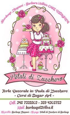 CLIENTE: Burbuqe Zhupani - CAKE DESIGNER LAVORO: Manifesto