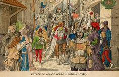Entrée de Jeanne d'Arc à Orléans (1429)