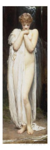 Crenaia (The Nymph of the Dargle), 1880 Giclee Print by Frederick Leighton - AllPosters.co.uk