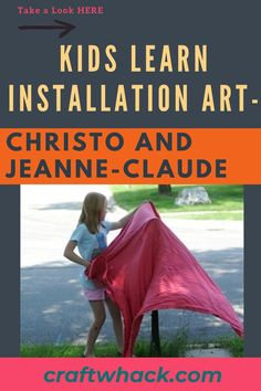 Craft Whack believes in nurturing creative curiosity, and we've put together an article for kids to learn installation art – Christo and Jeanne-Claude. Installation art makes use of temporary large-scale mixed-media constructions. Christo and Jeanne-Claude were a married artist pair who rose to fame for wrapping large landmarks in fabric. Read our full article on how you can pique your child's interest in this expressive art form. #ChristoAndJeanneClaude #ContemporaryArt #InstallationArt #Art Fun Crafts For Kids, Art For Kids, Articles For Kids, Christo And Jeanne Claude, Easy Art Projects, Expressive Art, Installation Art, Art Forms, Kids Learning