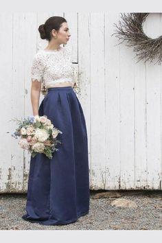 988db7e5185 25 Best Denim Bridesmaid dresses images
