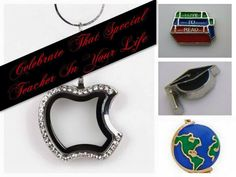 Looking for a #Gift for that #Special #Teacher! Get her a #Locket  & #Charms to show her. www.shopsetendipitystyles.com/#Kshumate.