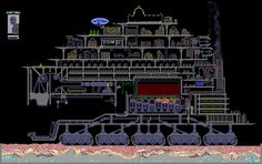 The Powder Toy - traction city by Predator Cities, Mortal Engines, Apocalypse Art, North Sea, Sci Fi Art, London City, Kale, Cyberpunk, Books