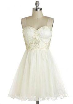 Budget wedding ideas blog - Marshmallow Whirl Dress Modcloth.jpg